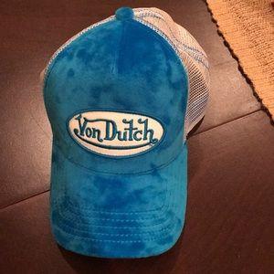 Von dutch blue hat